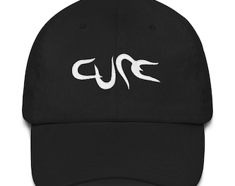9dcfab45a46 The Cure Wish 1992 Embroidered Dad Hat Strap Back