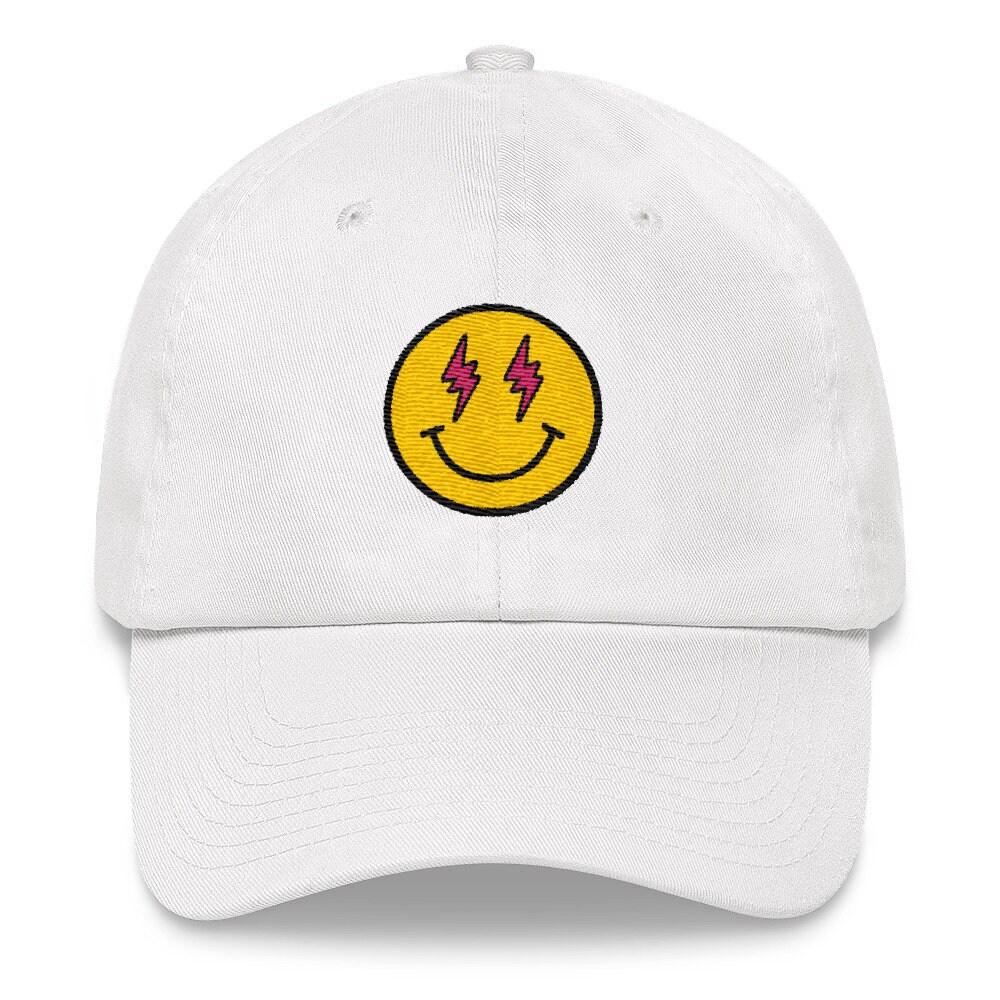 689b5417faeac J Balvin Embroidered Dad Hat Strap Back Cap White Navy Black