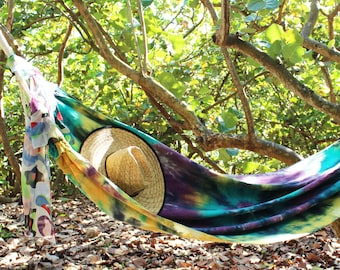 Tie-Dye Hammock Indoor and Outdoor Home Design Wedding Gift or Housewarming Gift Innovative Modern Home Decoration