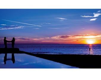 Fine Art Landscape Photography - Love at First Sight, Nature Photography, Sunrise, St Petersburg, Florida, Prints, Canvas