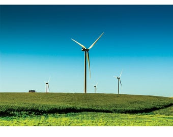 Fine Art Landscape Photography - Static electricity, Nature Photography, Windmills, Industrial, Prints, Canvas