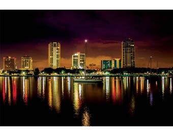 Fine Art Landscape Photography - City of Lost Souls, Architecture, St. Petersburg, Florida, Exposure, Prints, Canvas