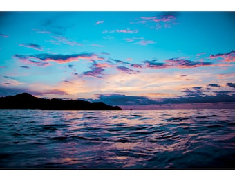 Fine Art Landscape Photography - Natures Paintings v02, Nature Photography, Sunrise, Costa Rica, Mountains, Prints, Canvas