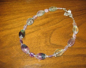 "18"" Fluorite Necklace"