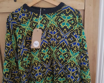 Pre-loved Retro Graphic Jumper