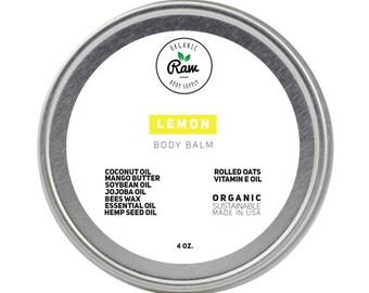 Lemon Body Balm