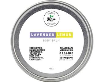 Lavender Lemon Body Balm