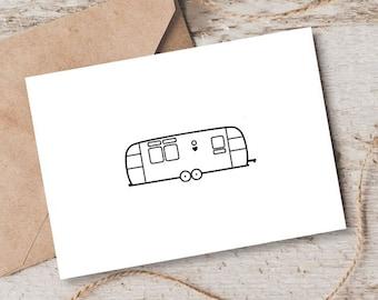 Airstream Card [Blank Inside]