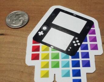 3DS XL Sticker