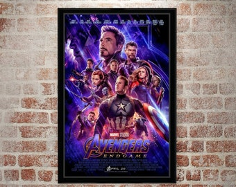 AVENGERS; INFINITY WAR Movie PHOTO Print POSTER Film Marvel Endgame Thanos 006
