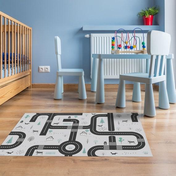 Strasse Aktivitat Teppich Kinderzimmer Teppich Spielteppich Etsy