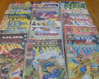 35 Marvel X-Men Comic Books
