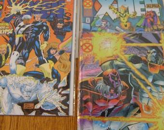 5 Marvel X-Men Comic Books
