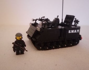 Lego Swat Etsy