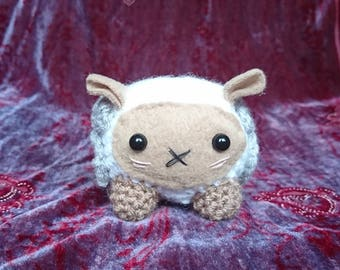 Cute Ram amigurumi crocheted plushie