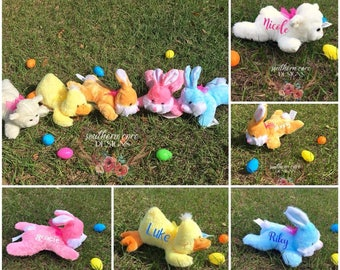 FREE SHIPPING-Personalized Easter Plush