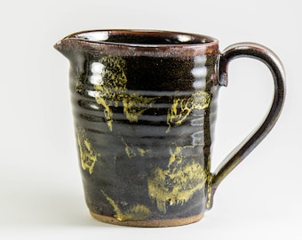 Small Stoneware Pitcher for Milk, Cream, or Syrup