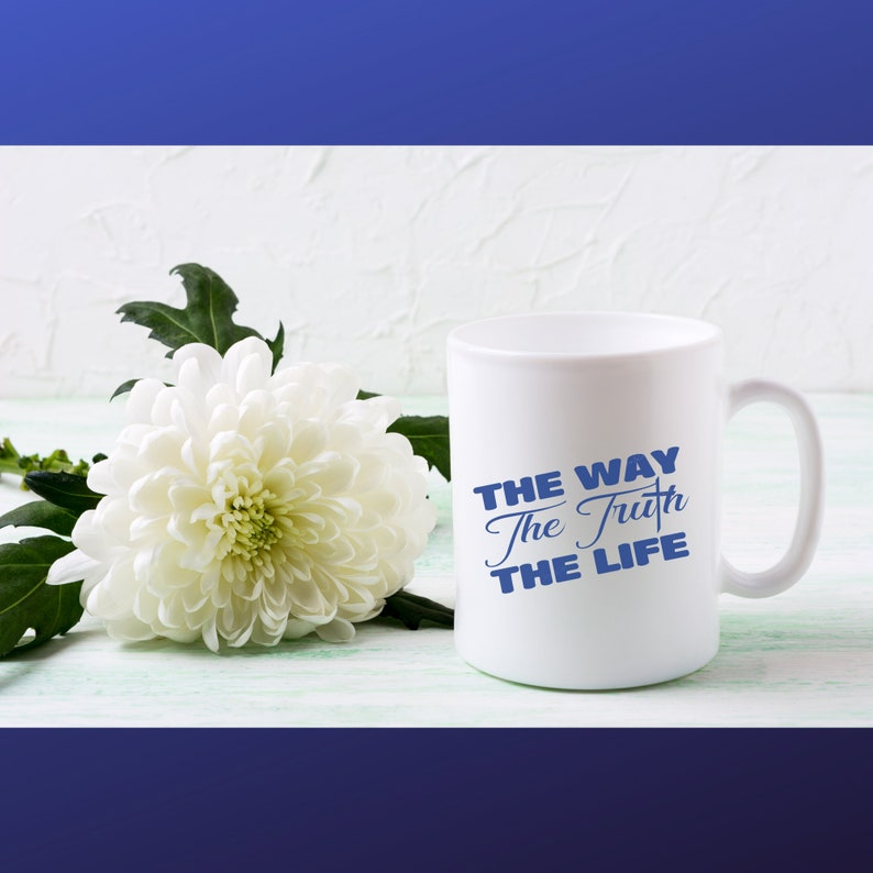The Way The Truth The Life decal digital download vector cut file for decals t-shirts stencil stickers Image Svg Bmp Png easy weed clip art