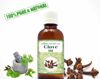 Clove Essential Oil Pure & Natural For Aromatherapy Oils-Therapeutic Grade Oils