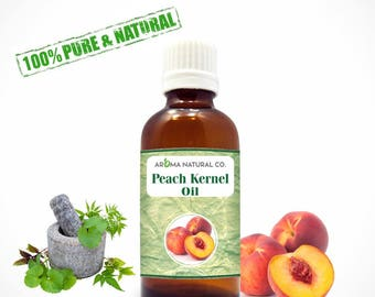 Peach Kernel Carrier Oil Pure & Natural For Aromatherapy Oils-Therapeutic Grade Oils