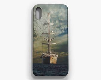 Yacht Phone case, iPhone X, iPhone 8/8 Plus, iPhone 7/7 Plus, iPhone 6 6S, iPhone 6 Plus 6S Plus, Samsung Galaxy S8/S8 Plus case