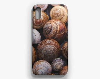 Snail Phone case, iPhone X, iPhone 8/8 Plus, iPhone 7/7 Plus, iPhone 6 6S, iPhone 6 Plus 6S Plus, Samsung Galaxy S8/S8 Plus case