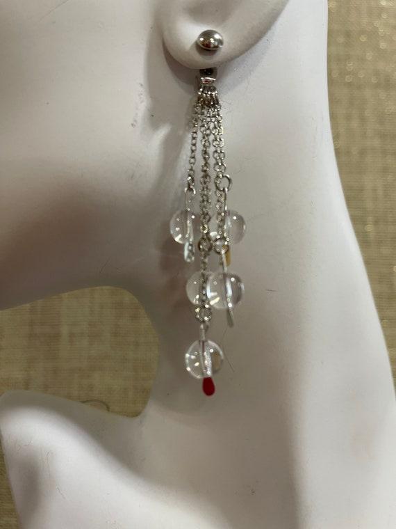 Beautiful handmade dangle earrings