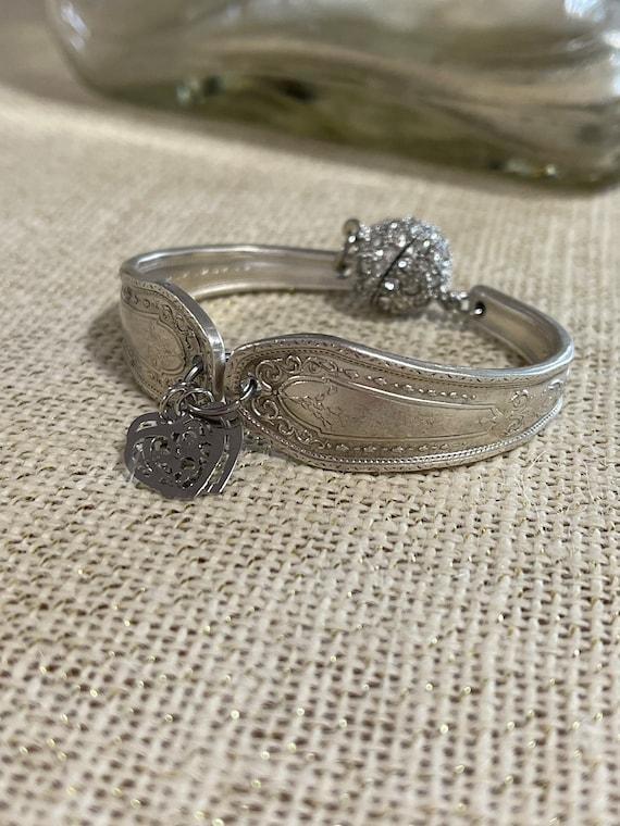 Handmade spoon bracelet