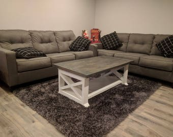 Wooden Coffee Table Etsy