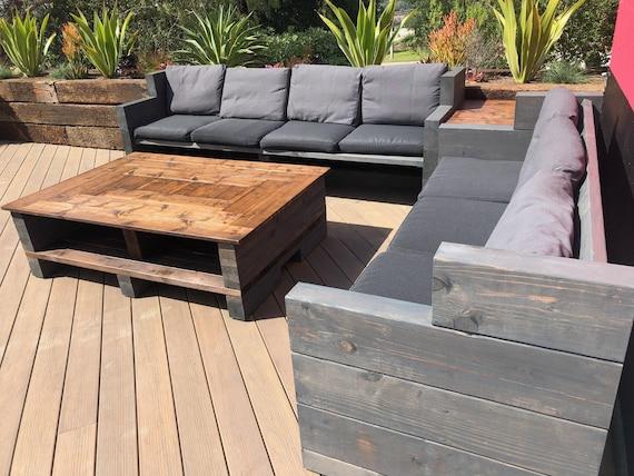 Custom Outdoor Furniture Farmhouse, Comfy Outdoor Patio Furniture