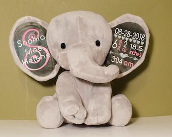 Elephant Baby Gift Etsy