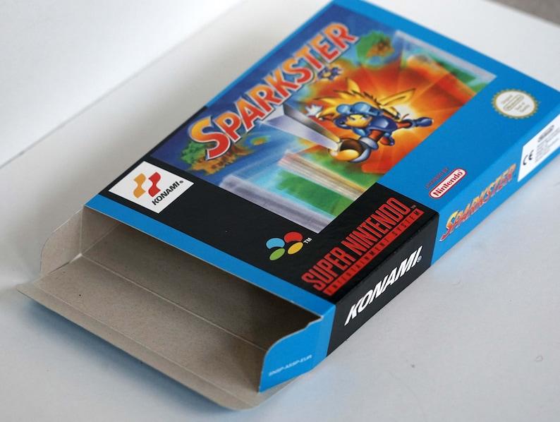 Sparkster EUR Boîte SNES
