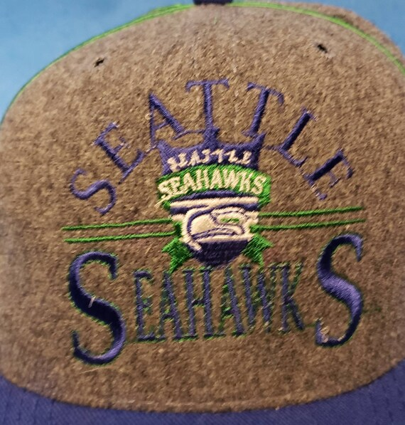 Vintage 1990s The Game Seattle Seahawks Snapback … - image 3