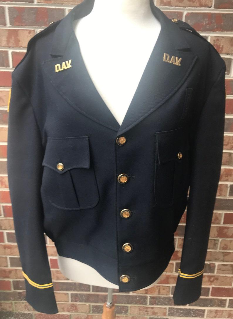 Disabled Veteran Dress Uniform DAV Waist Coat 46R