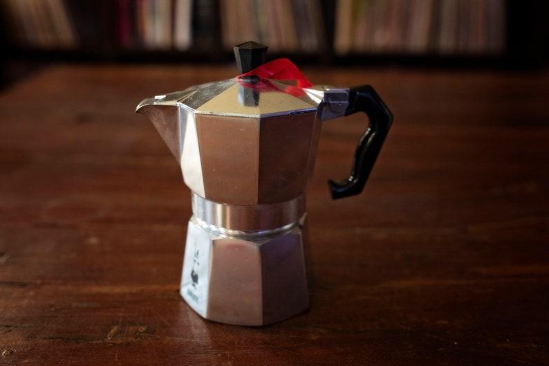 Bialetti coffee maker Vintage kitchenware camping gear Italian coffee maker 3 cups coffee maker Espresso coffee maker
