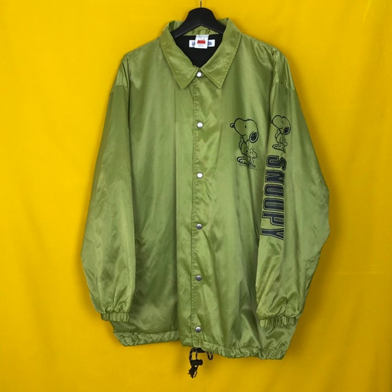 Peanuts Full Buttoned Coach Jacket