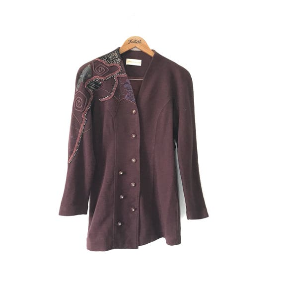 Free Shipping!! Marchioness Stud Vintage Women Bla