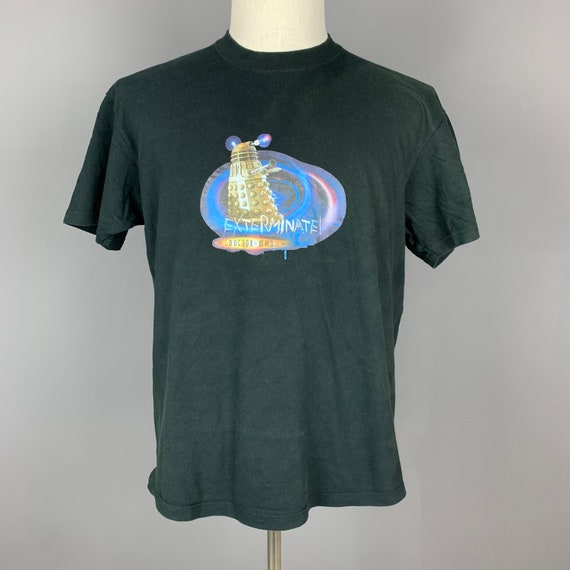 VTG Doctor Who 2005 TV Series T-Shirt Alien BBC