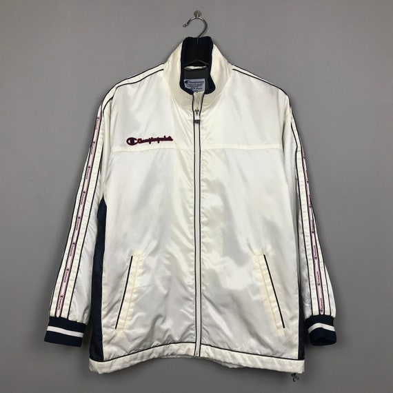 Vintage Champion Products Tracktop Windbreaker Jac