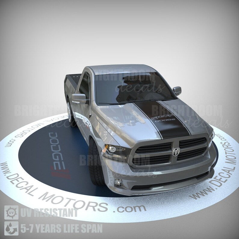 1500 2500 3500 Truck Bed Side Stripe Dodge Ram SPORT Vinyl Decal Sticker 017C