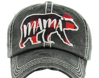 783b03313afe6 Mama Bear Baseball Hat