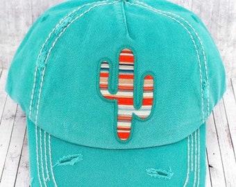 80be5b619a4 Cactus baseball hat | Etsy
