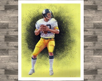 18619acb1de Throwback Terry Bradshaw oil painting