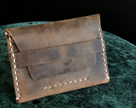 Personalized Groomsmen Gift, Leather Wallet, Distressed Wallet, Front pocket wallet, Man Wallet, Card Holder, Wedding gift ID: TEXAS001