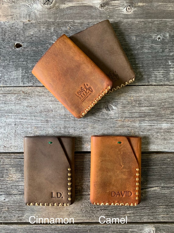 Leather Wallet, Leather Cardholder, Distressed Leather Wallet, Personalized Leather Wallet,Leather Cardholder ID: TEXAS026