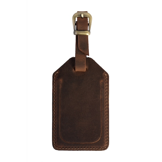 Personalized leather luggage tags/Wedding Favors