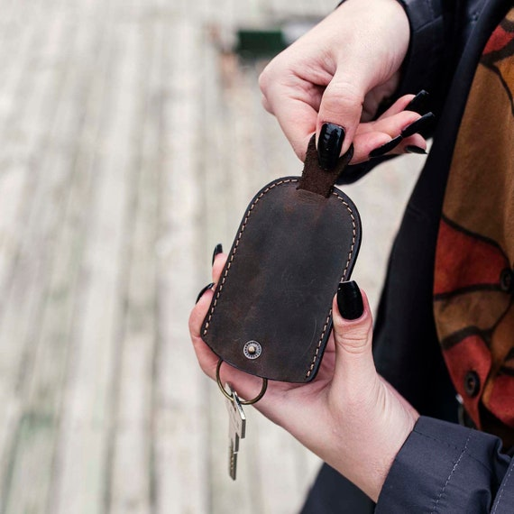 Leather Keychain, Keychain, Handmade leather keychain, Genuine leather, Leather gift, Keyring,leather keyring