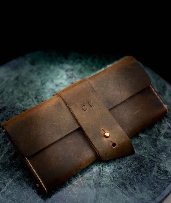 Personalized  Bridesmaids Gift, Women's Leather Wallet, Slim Distressed Leather Wallet, slim wallet, Wallet, Wristlet Purse # TEXAS003