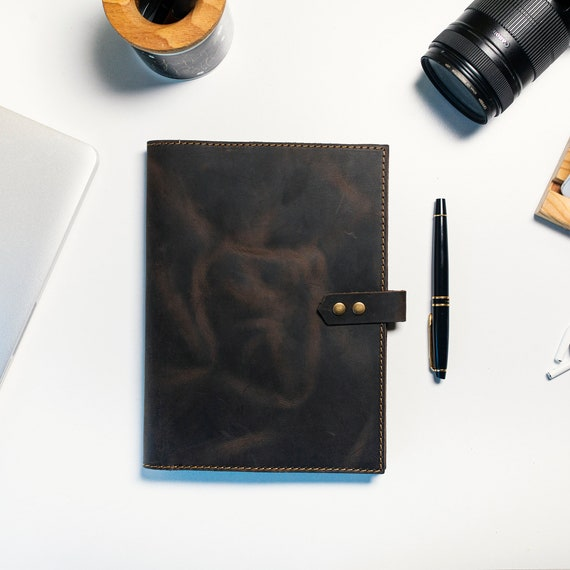 Leather Notebooks Cover, Cover, Daily Diary, Leather Cover, Leather Organizer, Travel Accessories