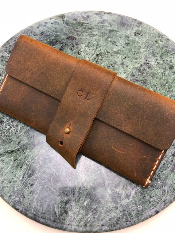Mother's day gift Gift, Women's Leather Wallet, Slim Distressed Leather Wallet, slim wallet, Wallet, Wristlet Purse # TEXAS003